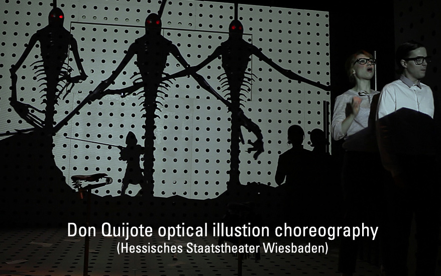 """Don Quijote"" – theater choreography"