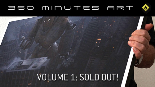 360 minutes art: Artworks sold out!